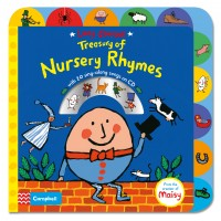 9781447277248Lucy Cousins Treasury of Nursery Rhymes Book and CD