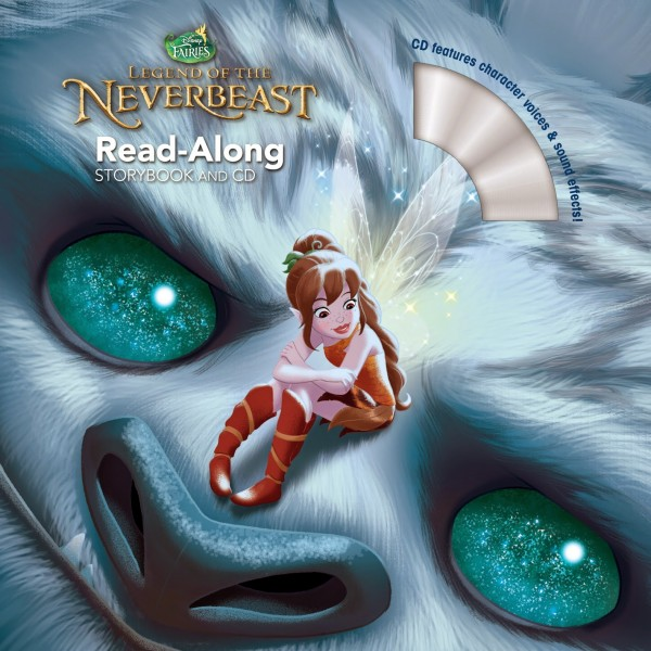 Legend of the NeverBeast Read Along Storybook and CD High Resolution