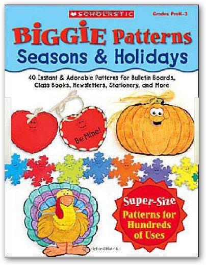 Biggie Patterns: Seasons & Holidays 教學工具書:提供季節和節日相關的圖案