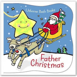 Father Christmas Bath Book 聖誕節動起來
