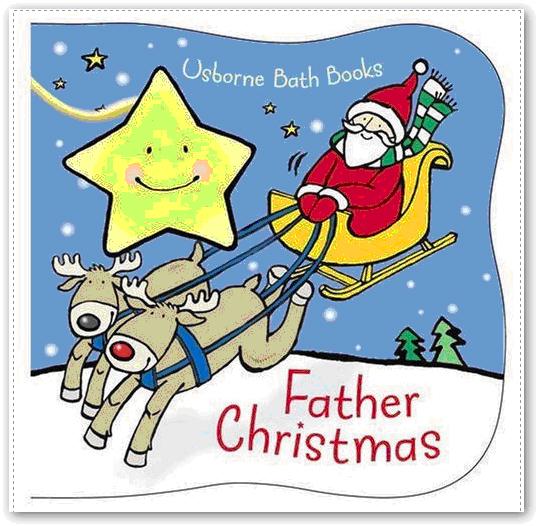 Father Christmas Bath Book 聖誕節動起來