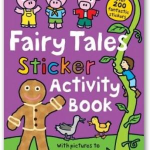 Fairy Tales Sticker Activity Book童話世界(貼紙遊戲書)