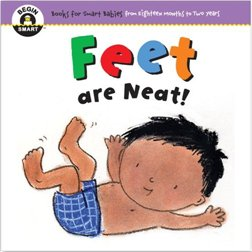 Begin Smart Feet Are Neat!寶寶的第一本書:乾潔的小腳丫  (厚頁書)