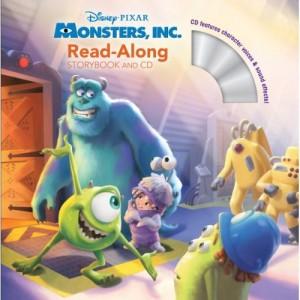 Monster Inc. Read-Along Storybook + CD怪獸電力公司 + CD