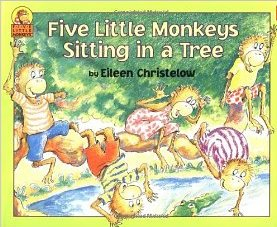 Five Little Monkeys Sitting in a Tree 五隻猴子愛爬樹