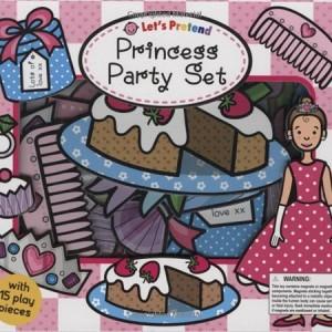 Let's Pretend Princess Party Set 角色扮演:公主派對 (遊戲操作書