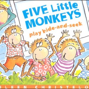 Five Little Monkeys Play Hide and Seek  五隻小猴子玩躲貓貓