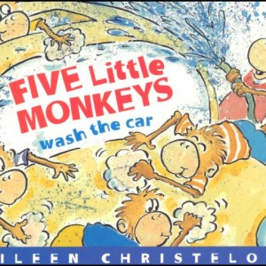 Five Little Monkeys Wash the Car 五隻小猴子在洗車