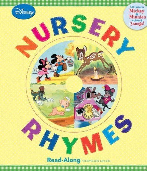 Disney Nursery Rhymes  迪士尼押韻童謠輯(附CD)