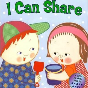 I Can Share 分享的重要 (翻翻厚頁書)