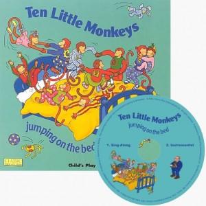 Ten Little Monkeys  十隻調皮小猴子 (附CD)