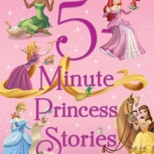 5-Minute Princess Stories 5分鐘床邊故事-迪士尼公主