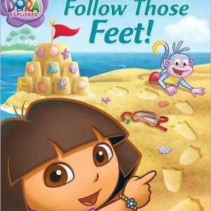 Dora Follow Those Feet-Level 1 足跡大探險
