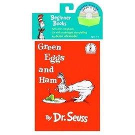 Green Eggs and Ham 綠雞蛋和火腿 (CD有聲書)