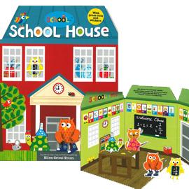 Schollies School House 快樂小學立體書屋 (立體書屋)