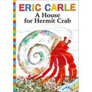 A House for Hermit Crab 不畏困難的小寄居蟹 (CD有聲書)
