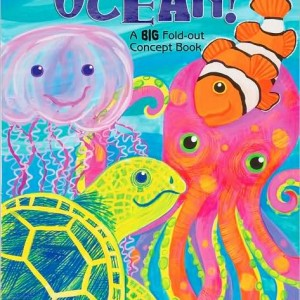 Ocean! A Big Fold-Out Flap Book 海洋探險去!