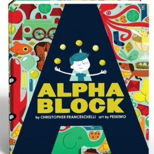 Alphablock趣味字母學習書
