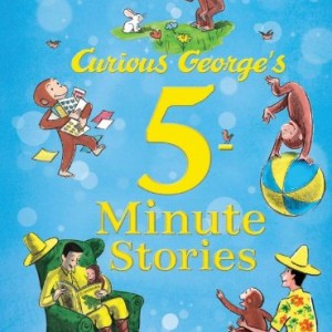 Curious George's 5-Minute Stories 5分鐘床邊故事-好奇喬治(精裝)