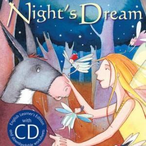 A Midsummer Night''s Dream+CD 仲夏夜之夢(精裝CD有聲書)