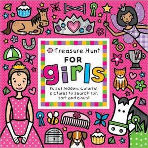 Treasure Hunt for Girls大家來找碴:女孩篇(硬頁書)