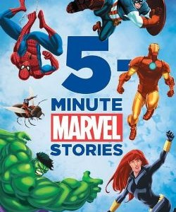 5-Minute Marvel Stories 5分鐘床邊故事-英雄系列