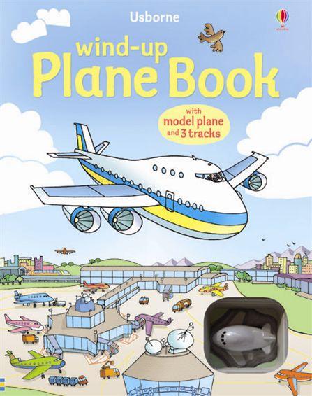 Wind-up Plane Book 飛機快飛 (附發條飛機)