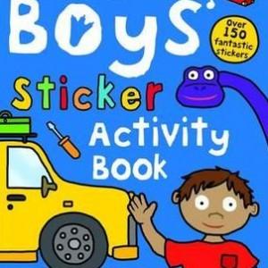 Boys' Sticker Activity Book 男孩主題貼紙書