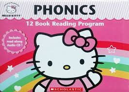 Hello Kitty Phonics 自然發音魔法書 (12書1CD)