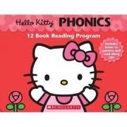 Hello Kitty Phonics 自然發音魔法書-母音篇 (12書1CD)