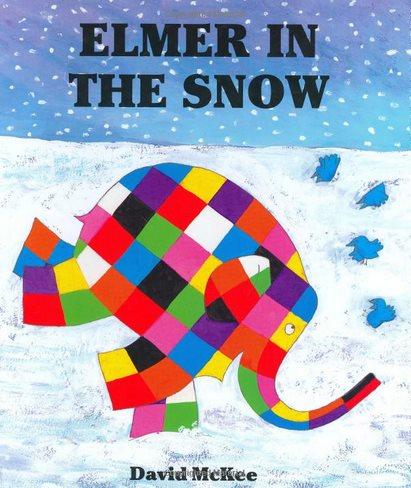 Elmer in the Snow 大象艾瑪玩雪記