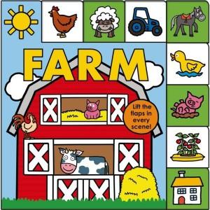 Lift-the-Flap Tab: Farm 農場歡樂城(厚頁翻翻書)