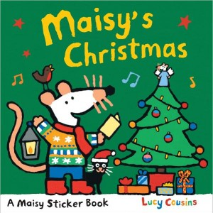 Maisy's Christmas: Sticker Book 小鼠波波聖誕貼紙書