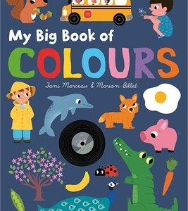 My Big Book of Colours 我的第一本顏色認知書(大開本厚頁書)