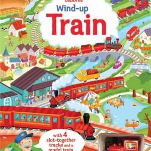 Wind-Up Train 火車快跑 (附軌道圖及發條火車) 厚頁遊戲書