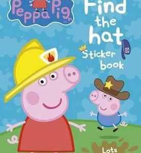 Peppa Pig: Find-the-hat Sticker Book 粉紅豬小妹:帽子在哪裡