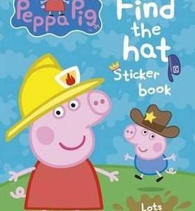Peppa Pig: Find-the-hat Sticker Book 粉紅豬小妹:帽子在哪裡