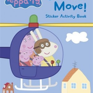 Peppa Pig: On the Move! 粉紅豬小妹:交通工具大集合(貼紙書)