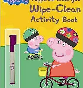Peppa Pig: Peppa and George's Wipe-Clean Activity