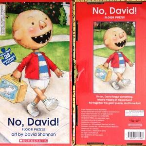 No David !小毛, 小毛, 不可以!(地板拼圖)