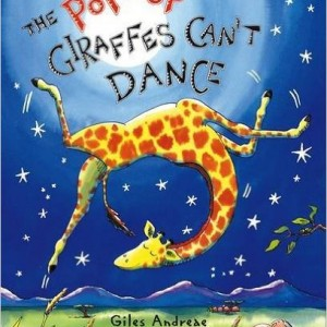 The Pop Up Giraffes Can't Dance 不會跳舞的長頸鹿(立體書)
