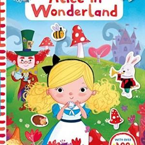 Alice in Wonderland 愛麗絲夢遊仙境貼紙書(遊戲書)