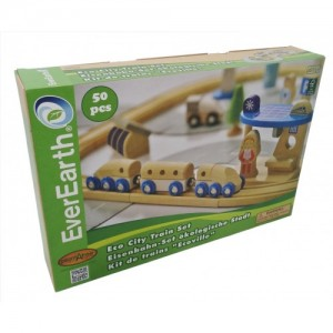 Eco City Train Set 德國EverEarth 環保城市軌道組(玩具)