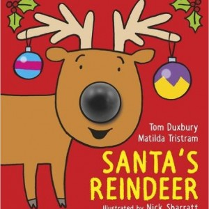 Santa's Reindeer 聖誕老公公馴鹿(厚頁書)