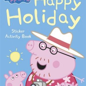 Happy Holiday Sticker Activity Book 粉紅豬:歡樂假日貼紙書