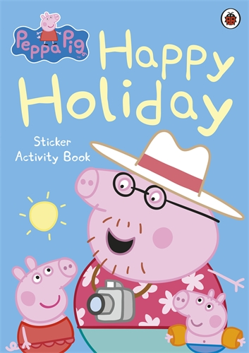 Happy Holiday Sticker Activity Book 粉紅豬:歡樂假日貼紙書