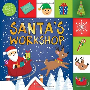 Santa's Workshop 聖誕老公公的工作室(厚頁翻翻書)