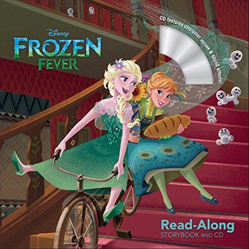 Frozen Fever Read-Along Storybook and CD 冰雪奇緣:生日驚喜