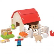 Organic Farm Set EverEarth農場玩具組
