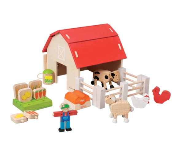 Organic Farm Set EverEarth農場玩具組
